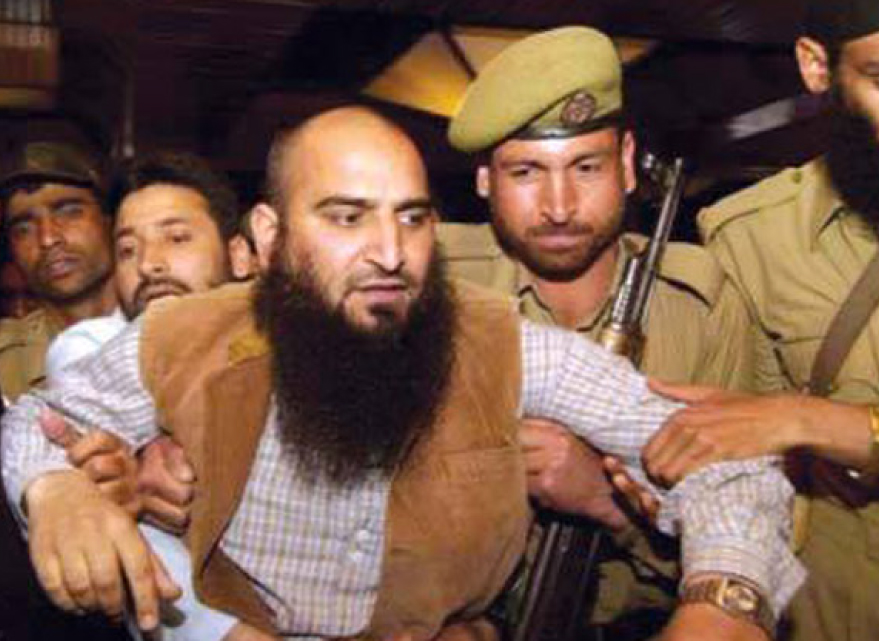 Masarat Alam Bhat, General Secretary of the All Parties Hurriyat Conference led by Syed Ali Shah Geelani & Chairman of the Jammu Kashmir Muslim League.