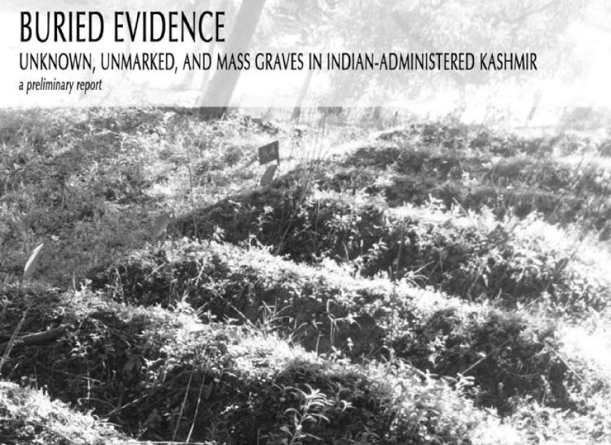 Unknown, Unmarked, and Mass Graves in Kashmir.